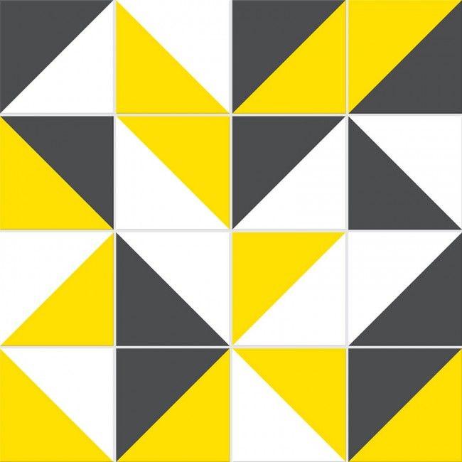 Adesivo Cozinha Retro ~ Adesivo para Azulejo Retr u00f4 01 Amarelo Adesivo Pinterest Adesivos para azulejos, Azulejos