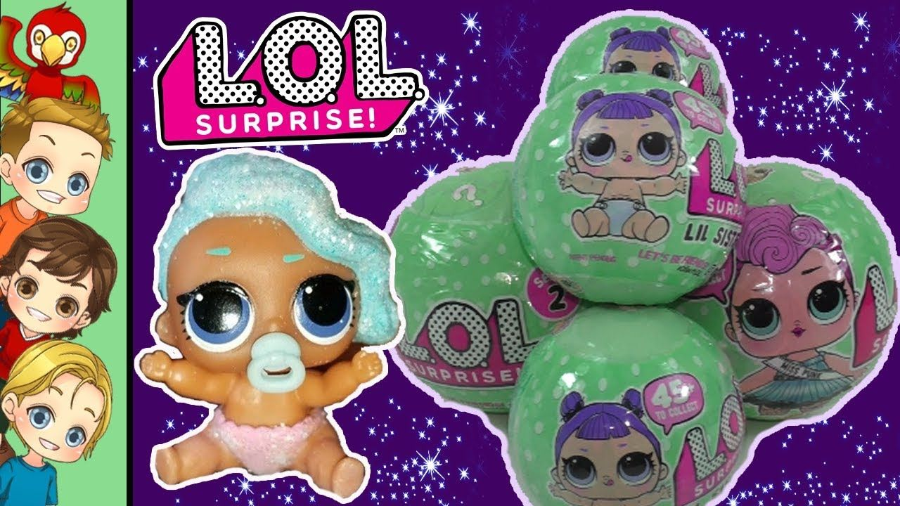 LOL Surprise Dolls | Lil Sister Big Sister Ultra RARE ...