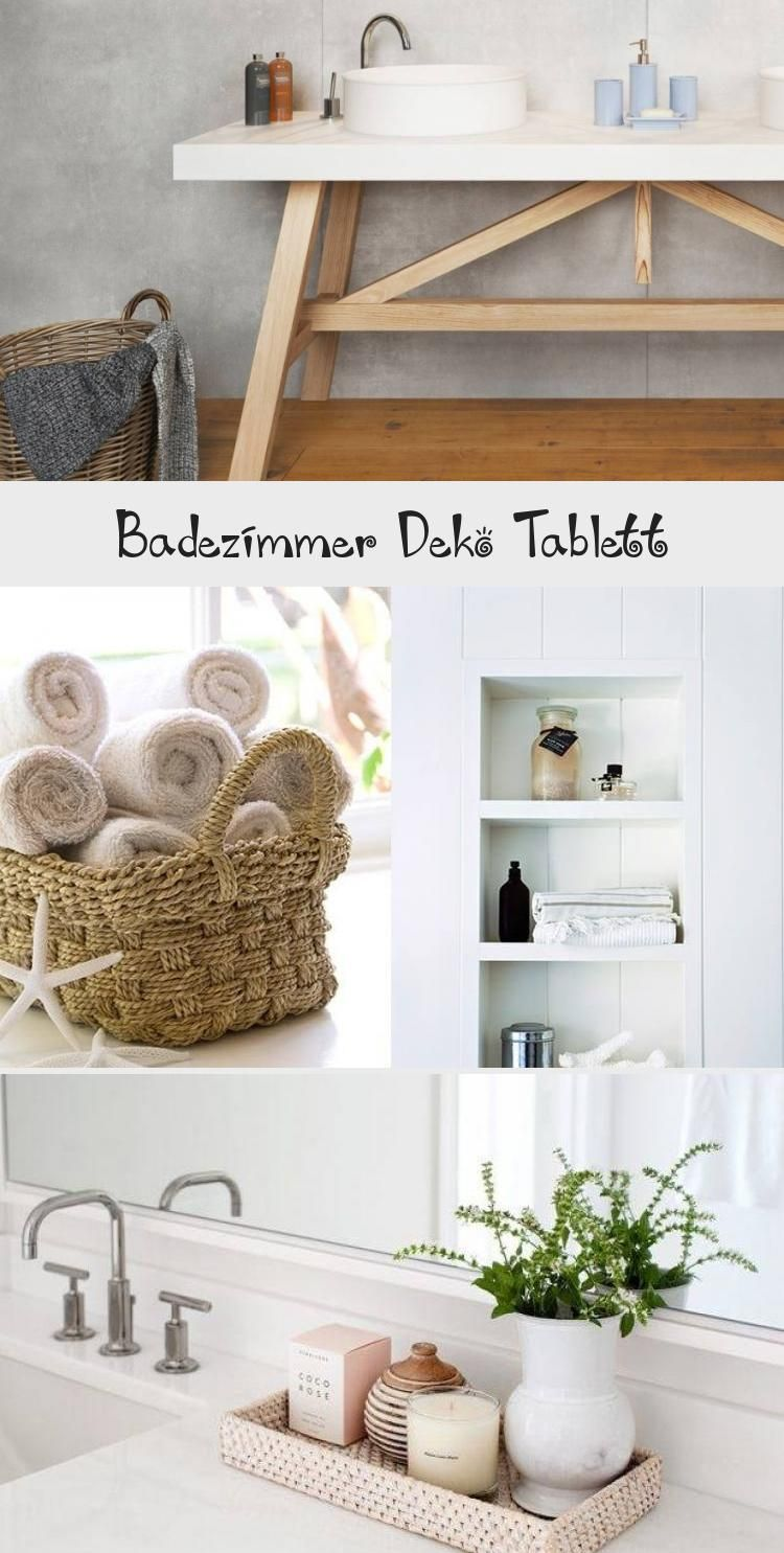 Badezimmer Deko Tablett  Badezimmer deko, Badezimmer dekor, Deko