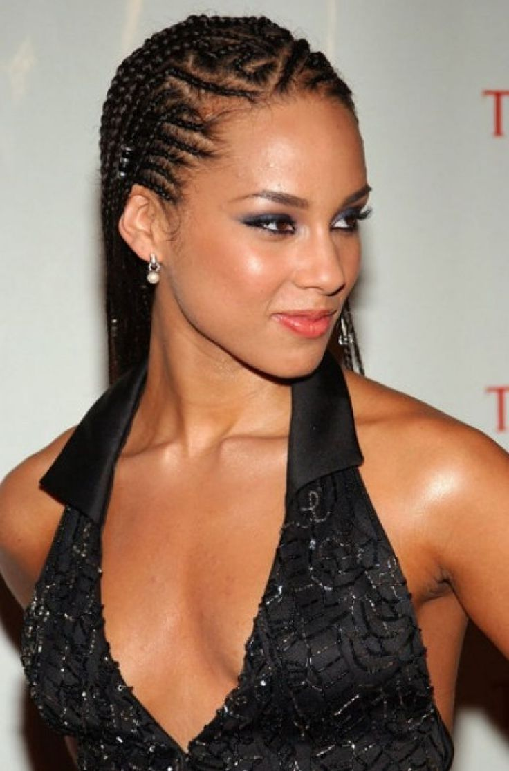 Cornrows Braid Hairstyles Ideas Braids On Pinterest Alicia Keys ...