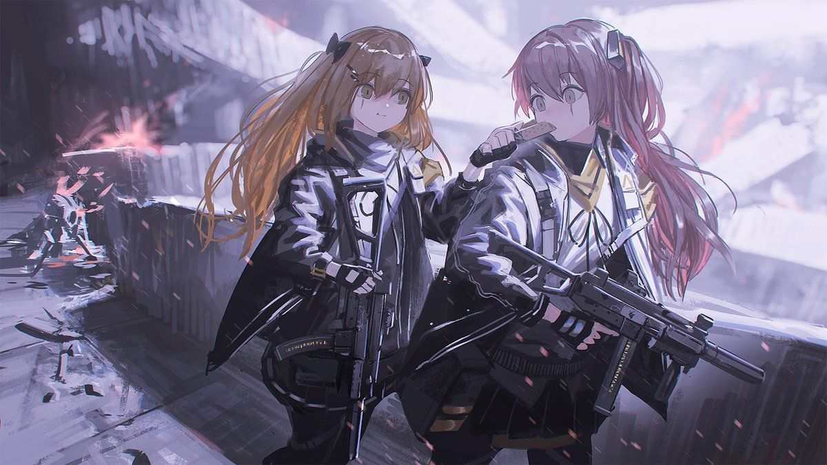 Pin On Girls Frontline