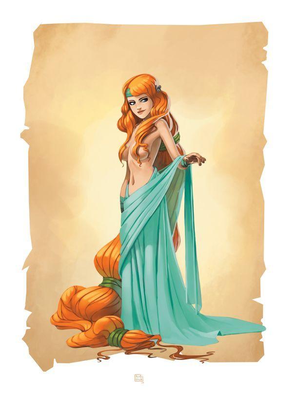 Goddess Aphrodite | Greek mythology art, Concept art ...