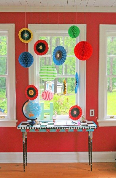 DIY Upcycled Record Medallions