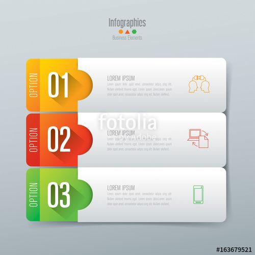 Vector Infographics Design Vector And Business Icons With 3 Options Infographic Design Infographic Powerpoint Design