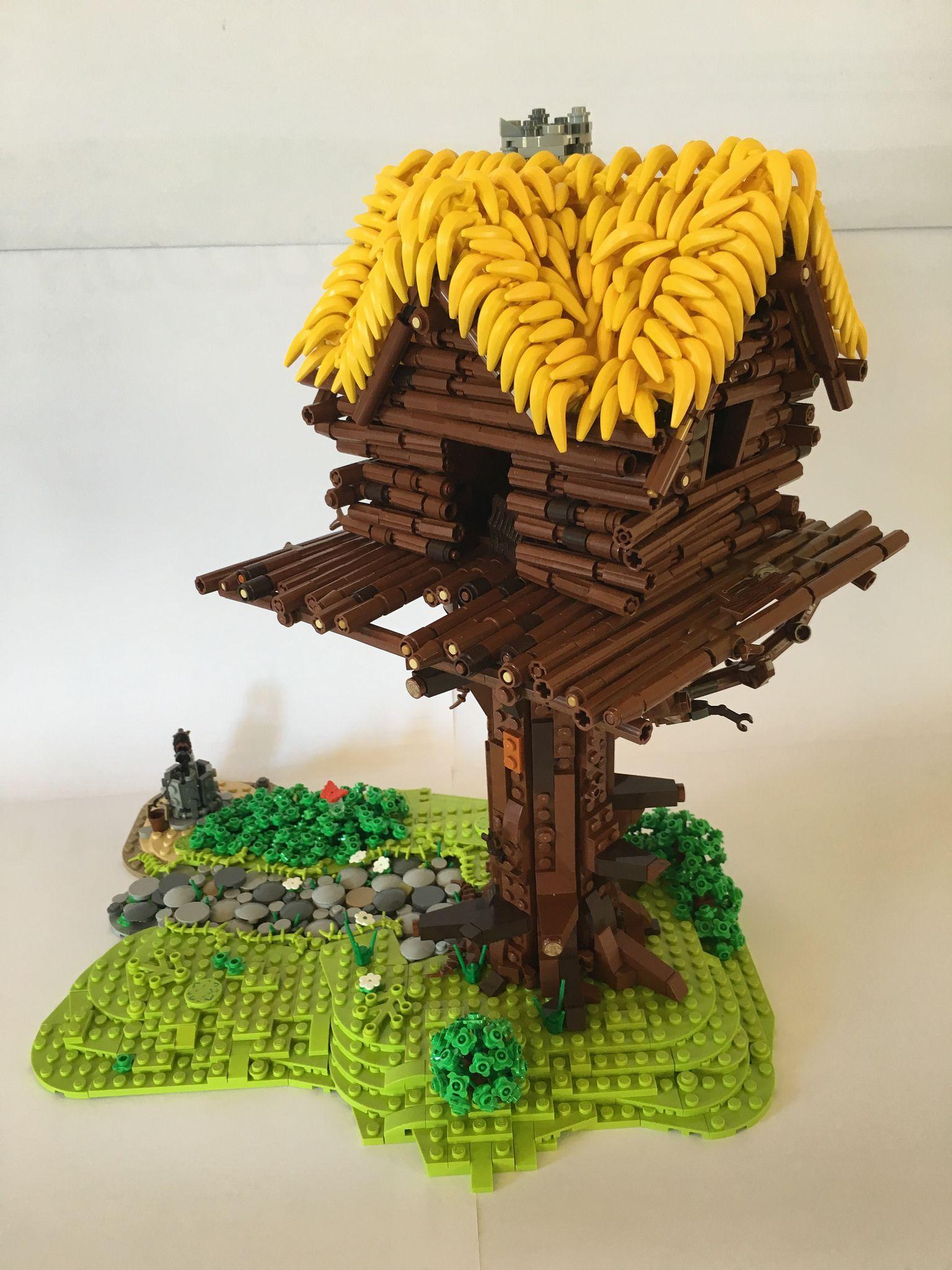 Maison D Assurancetourix Lego Tree Lego Design Lego Projects
