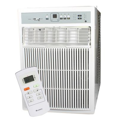 Gree 13 04684 Gree 8,000 Btu Window Vertical Electronic Air Conditioner  With Remote (GJC08CI