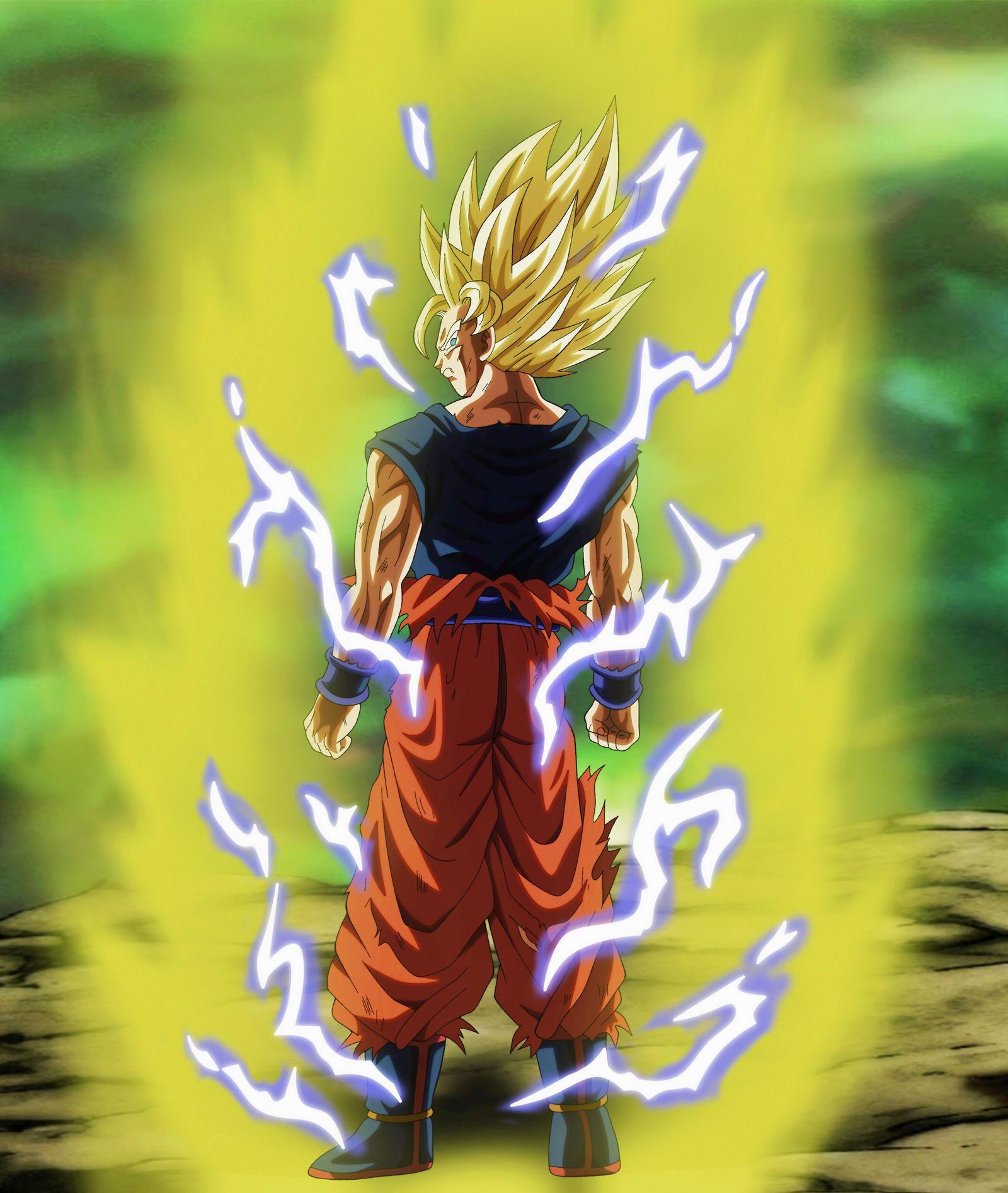 Goku Ssj2 By Andrewdb13 On Deviantart Goku Dragon Ball Z Dragon Ball Super