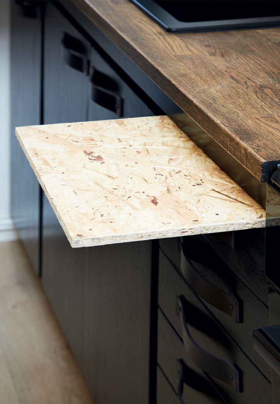 Køkken med Fleksibel bordplade