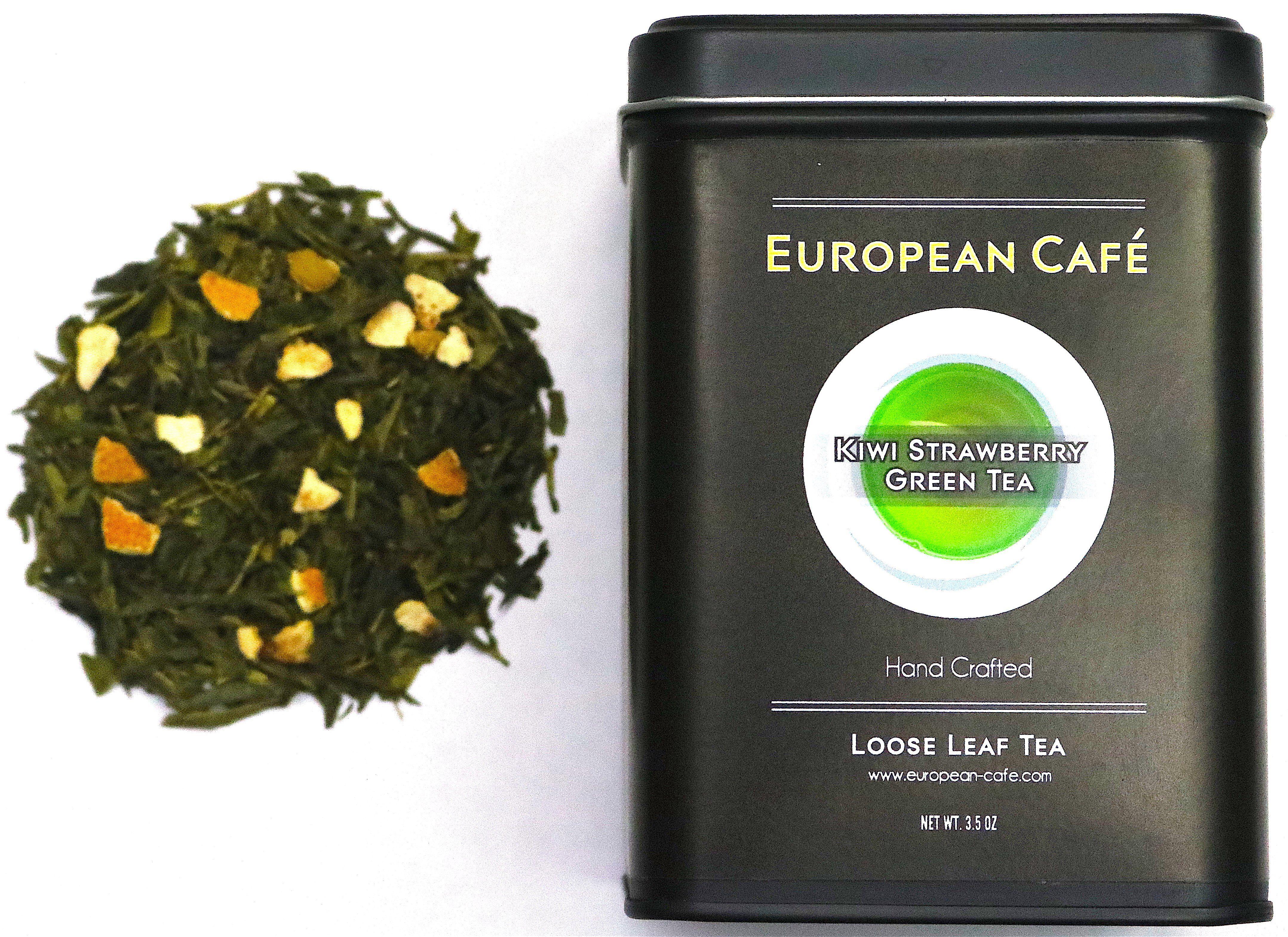 Photo of Kiwi Strawberry Green Tea – 3.5oz Tin