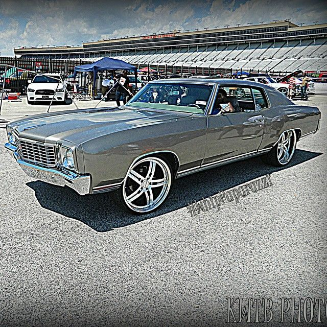 70 Monte Carlo Grey Atlanta Split 5 Star Wheels Chevrolet