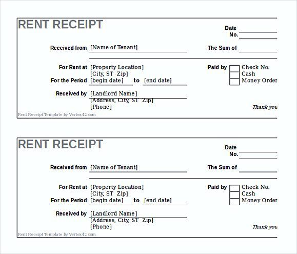 Rent Invoice Template , Knowing Some Details About Rent Invoice - rent invoice template