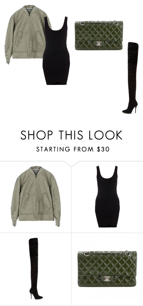 """""""Untitled #18"""" by nicantipoo on Polyvore featuring adidas, Balmain and Chanel"""