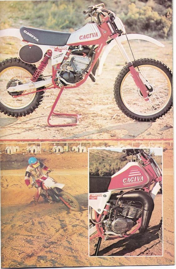 Msolis Vintage Motorcycle Cagiva Vintage Motocross Motorcycle