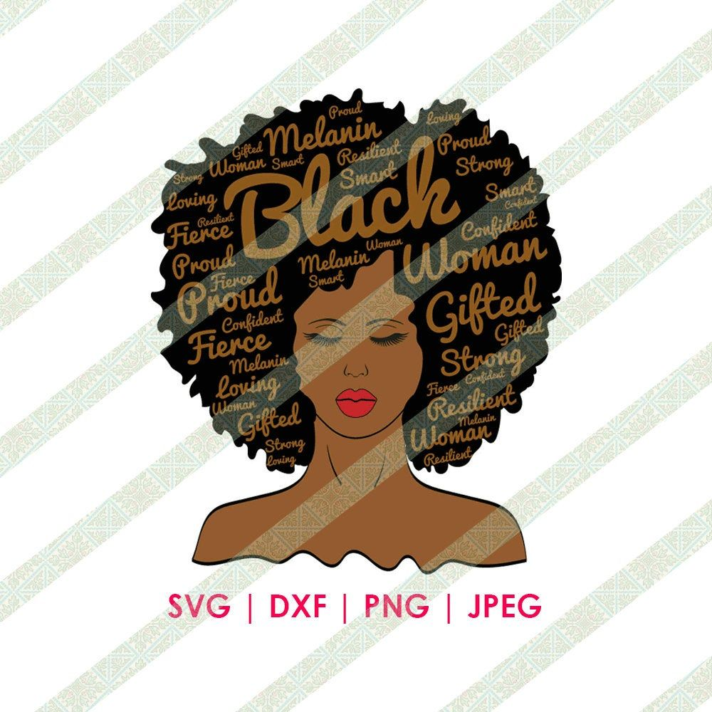Pin on African American SVG Download Files for Cricut or
