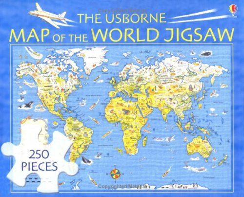 From 561 the usborne map of the world jigsaw usborne jigsaws from 561 the usborne map of the world jigsaw usborne jigsaws gumiabroncs Gallery