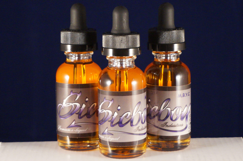 Sicboy Premium eliquid Hand Crafted Ejuice Perfume