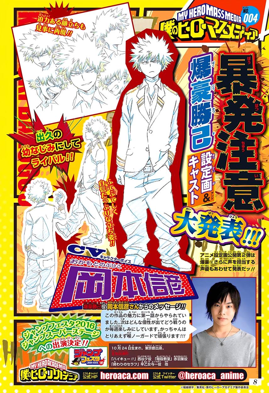 Boku no Hero Academia 1 InManga