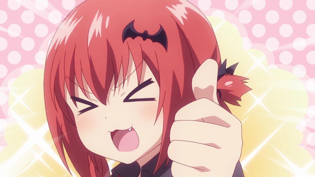 gabriel dropout ep 4 satania cp pinterest anime