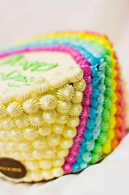 Rainbow Cake At Malicher European Deli Amp Bakery Ltd