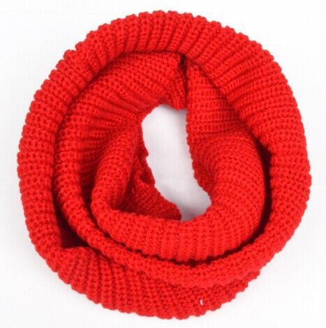Fashion Knitting Winter infinity Scarf