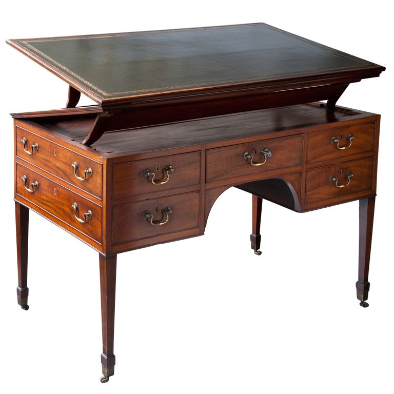 English Regency Metamorphic Mahogany Writing Table C 1820 From A Unique Collection Of Antique And Modern Desks And Writing Tables At Avec Images Mobilier De Salon Meuble