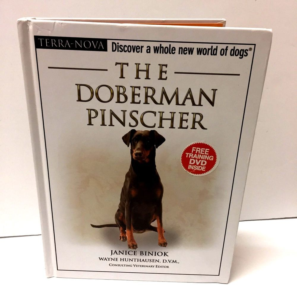 The Doberman Pincher By Janice Biniok Hardback Book Includes Dvd