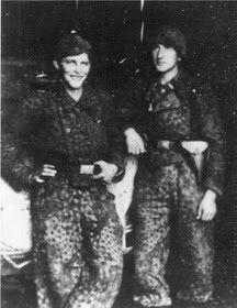 Swedish Volunteers in AA 11 SS-Rottenführer Karl-Olof Holm and SS-Unterscharführer Erik Wallin in Dünaburg (Daugavpils).