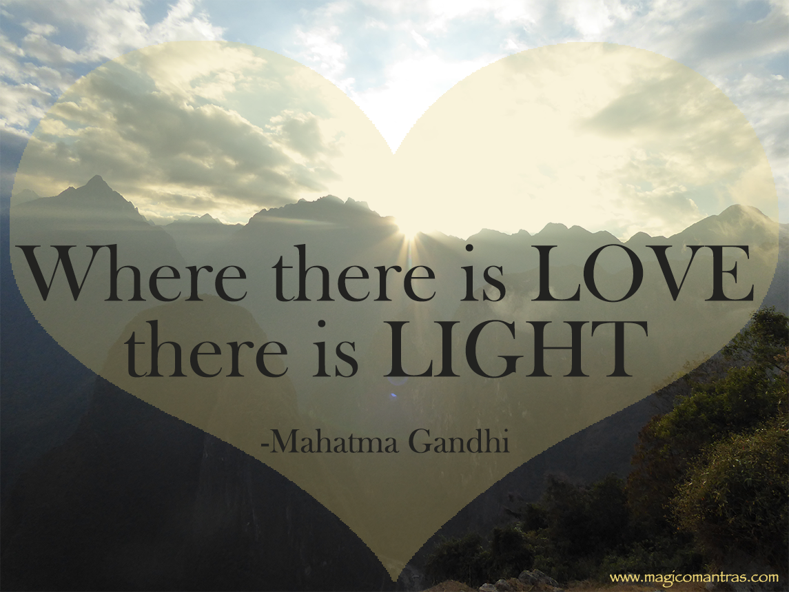 Gandhi Quotes On Love Mahatma Gandhi Quote On Love  Quotes And Some Wise Words