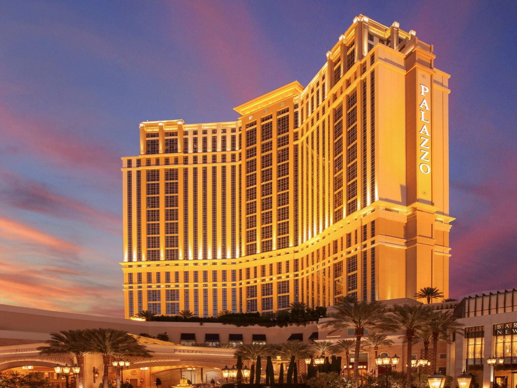 Las Vegas Nv The Palazzo Resort Hotel Casino United States