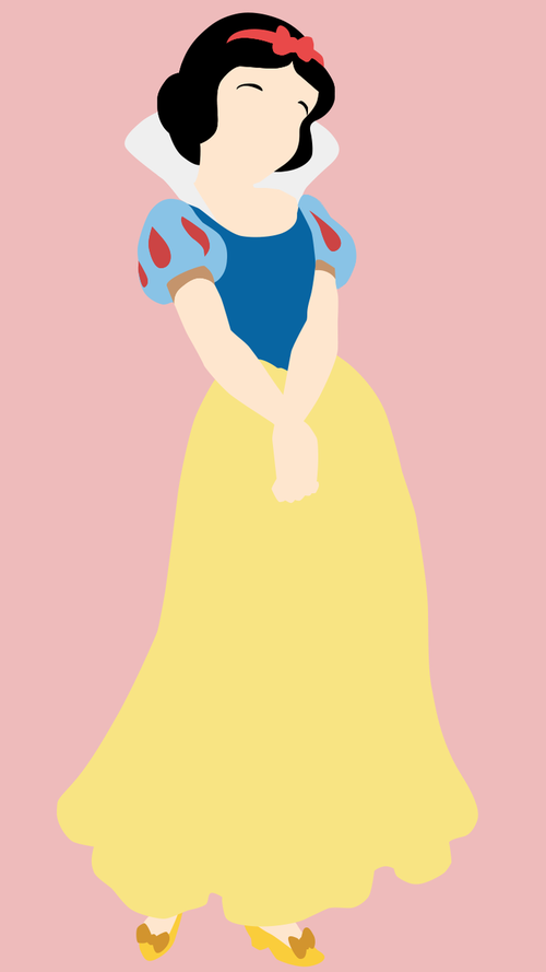 Snow White Minimalist Wallpaper Disney Wallpaper Wallpaper Iphone Disney Princess Disney Phone Wallpaper