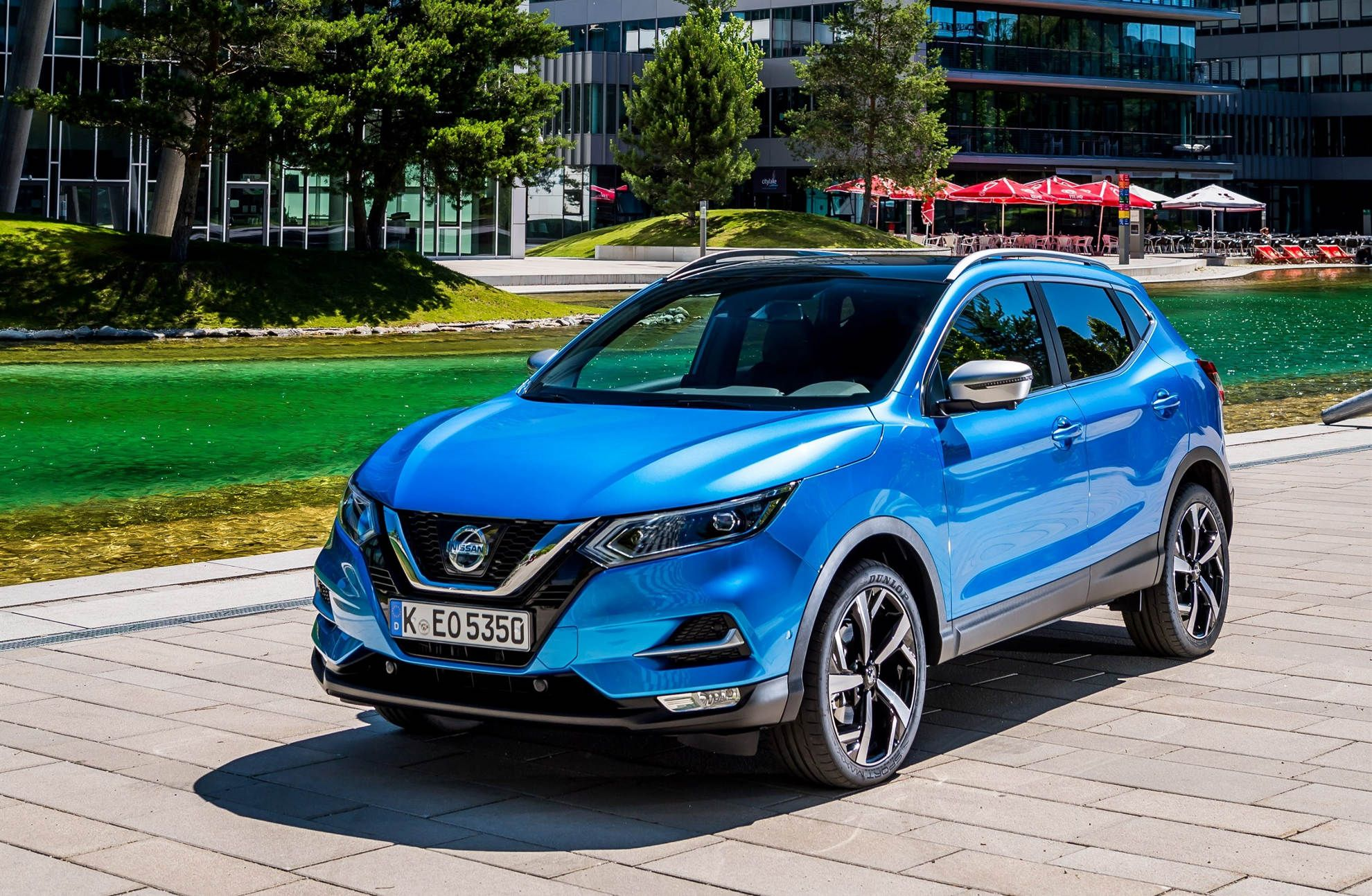 nissan qashqai facelift mj 2018 frontperspektive alle suv modelle pinterest nissan qashqai. Black Bedroom Furniture Sets. Home Design Ideas