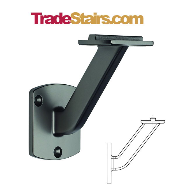 Best Immix Wall Handrail Bracket Handrail Stair Paneling 400 x 300