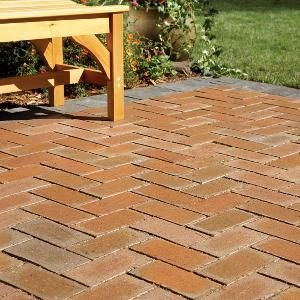 How To Cover A Concrete Patio With Pavers The Backyard