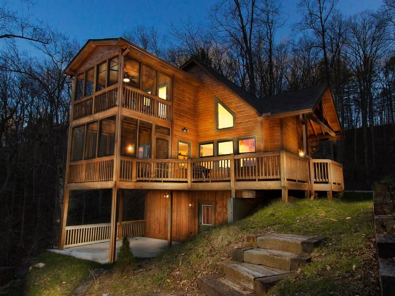 Elijay Treehouse Sleeps 6 100 Night Cabin House Rental House