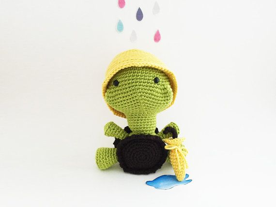 Amigurumi Turtle : Turtle crochet pattern tank the turtle amigurumi crochet pattern
