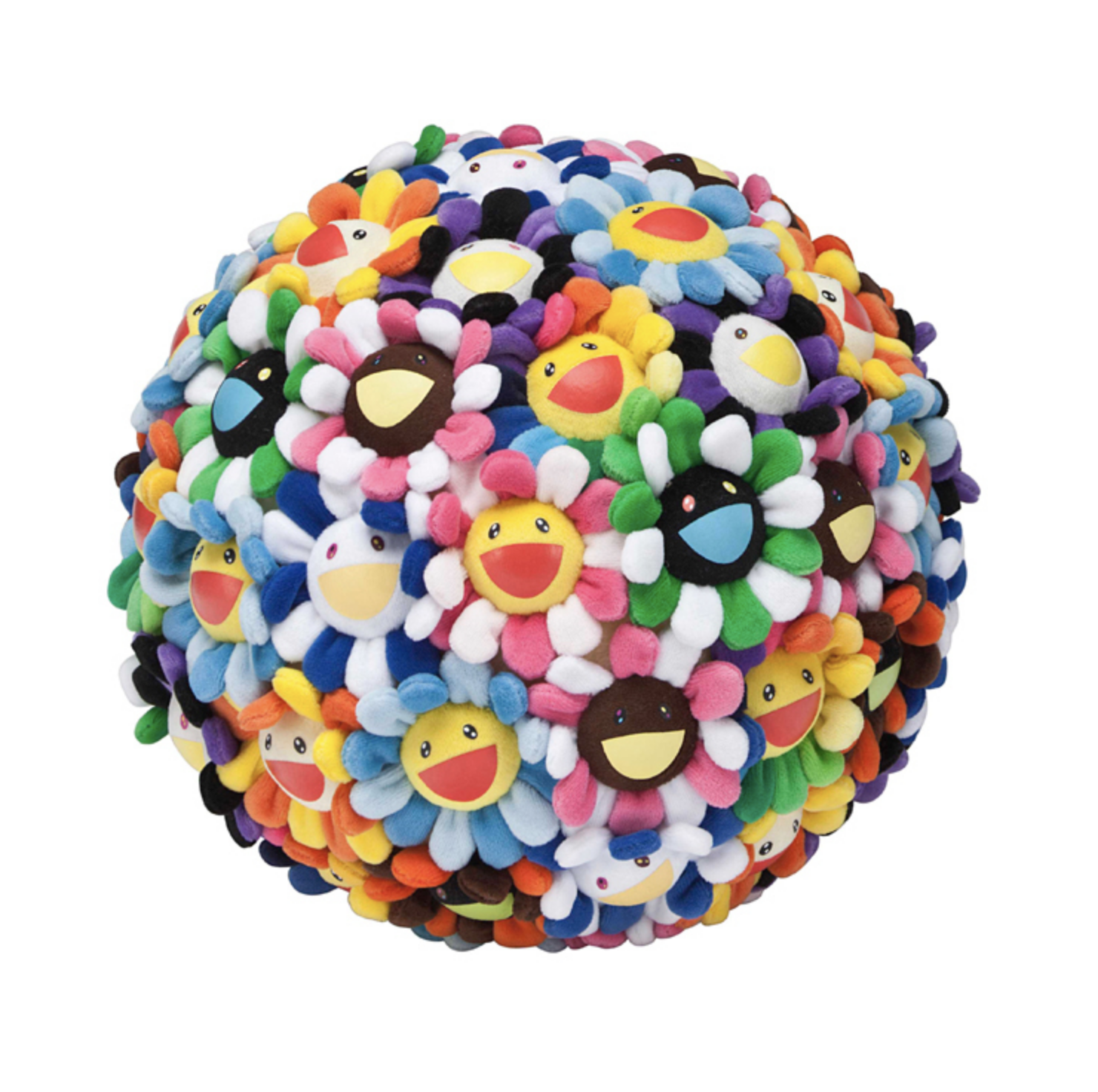 Takashi Murakami Plush Flower Ball Large 60cm Plush