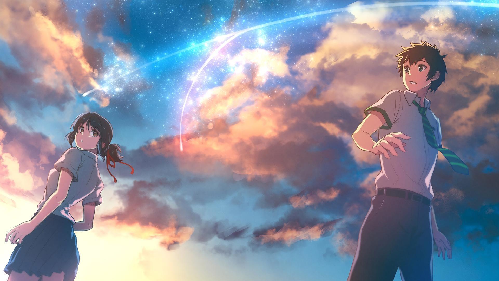 Kimi no Na Wa HD Wallpaper From Gallsource.com | Animasi ...