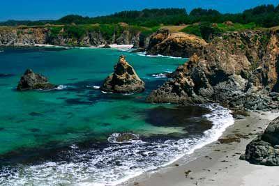 Mendocino beach northern california gorgeous love for Best beach in northern california