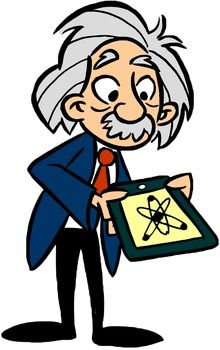einstein clip art einstein clip art and albert einstein rh pinterest com albert einstein clipart face Albert Einstein Cartoon