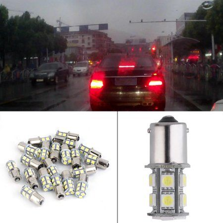 Car Accessories Interior Car Interior Lights 20x 7000k Led 12 Volts Rv Camper Trailer 1156 1157 13smd 5050 Light Bulbs 7000k Cool White For Interior Lighting Led Tail Lights Camper Trailers