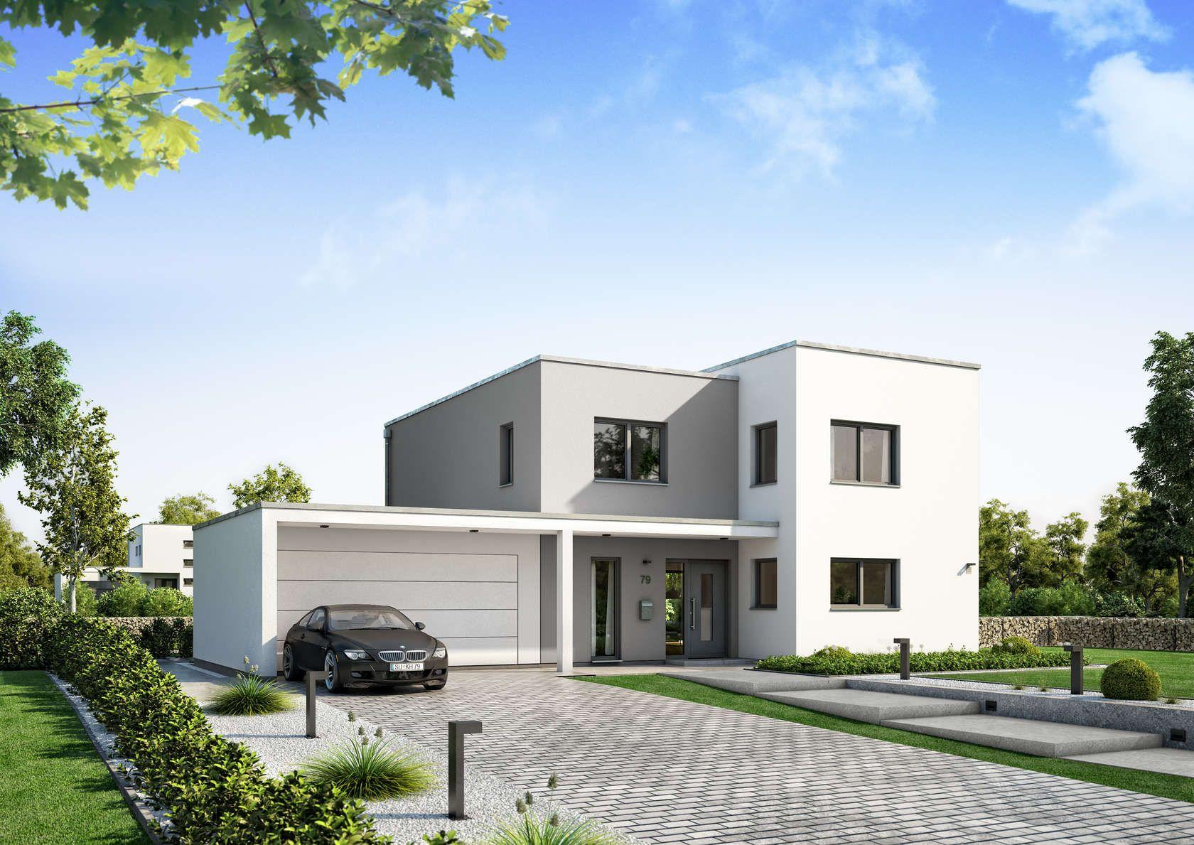 Einfamilienhaus modern Holzhaus versetztes Pultdach modern Fenster ...