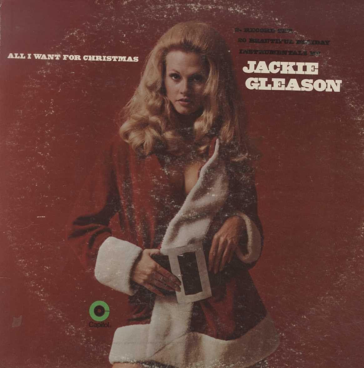 Jackie Gleason All I Want For Christmas Jackie Gleason Cool Album Covers Jackie