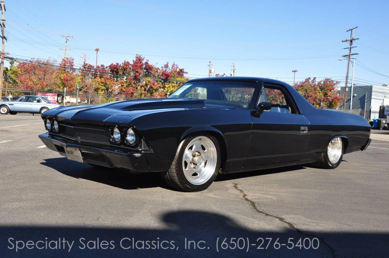 Similar Chevrolet El Camino California Chevrolet Black 1969