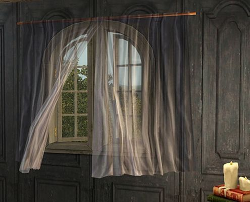 Sims 3 Updates Gardenbreeze Sims3 Sheer Curtains By Pocci
