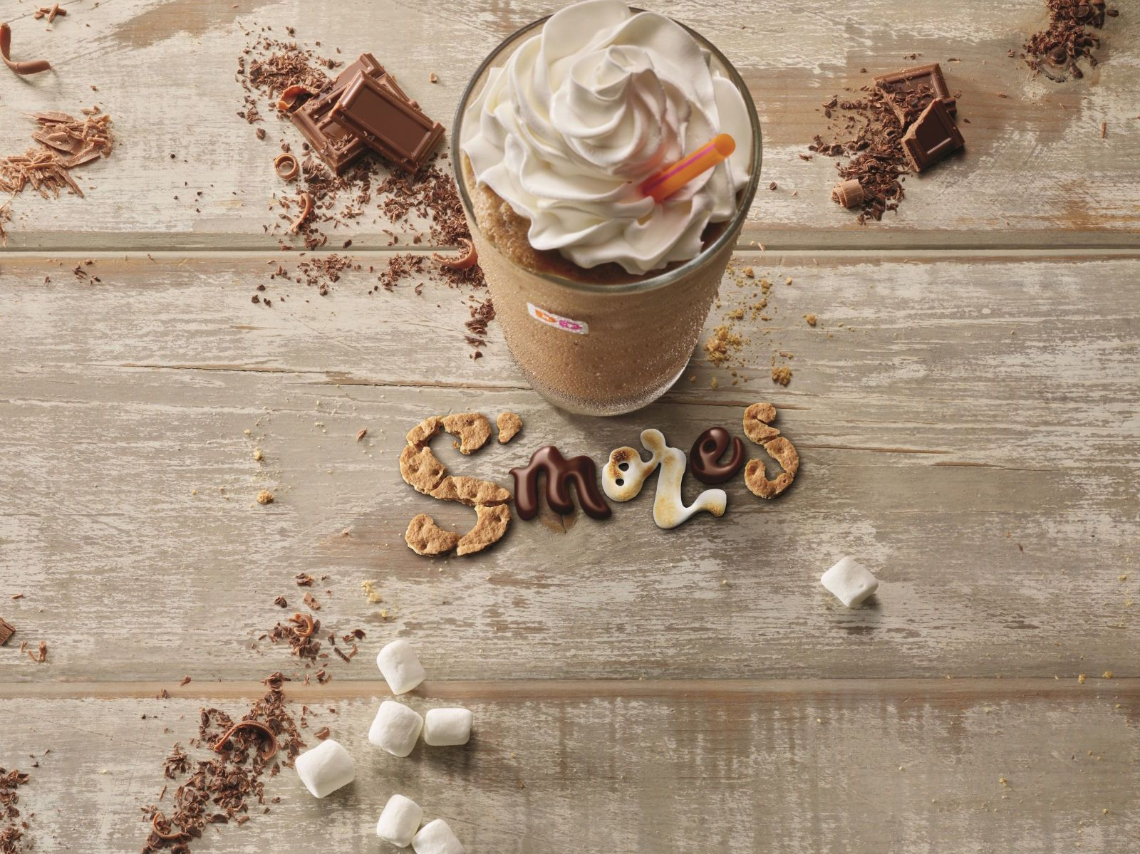 Dunkin' Donuts Releases The Sexiest S'mores Drink Ever