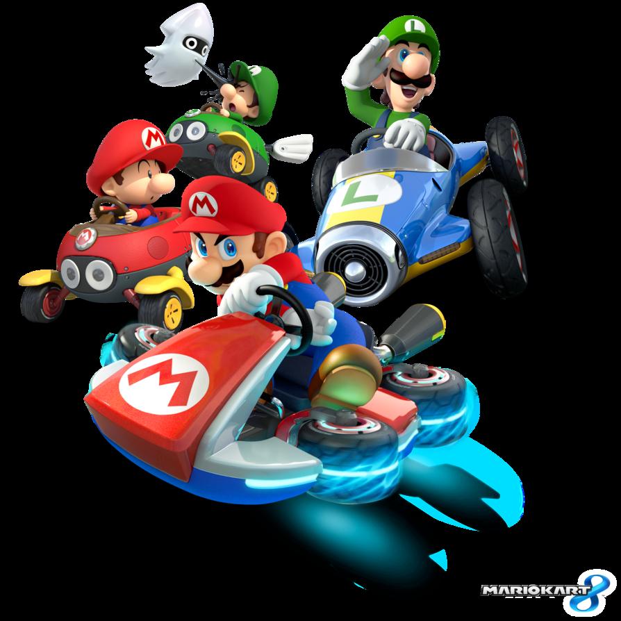 The Mario Luigi Team Mario Kart 8 Mario Mario Kart Mario