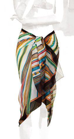 d1da9d93e Hermes pareo | Ako nosiť hodvábne šatky | Šatky