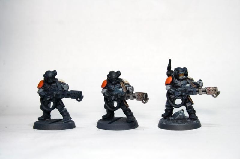 Astra Militarum Tempestus Scions Imperial Guard FLAMER 40K
