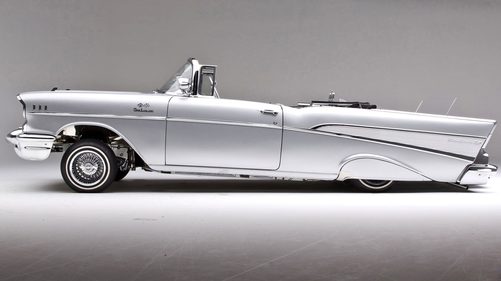 Not A Big Lowrider Lover But Thats Cool Ridez Pinterest Cars 1957 Chevy Impala
