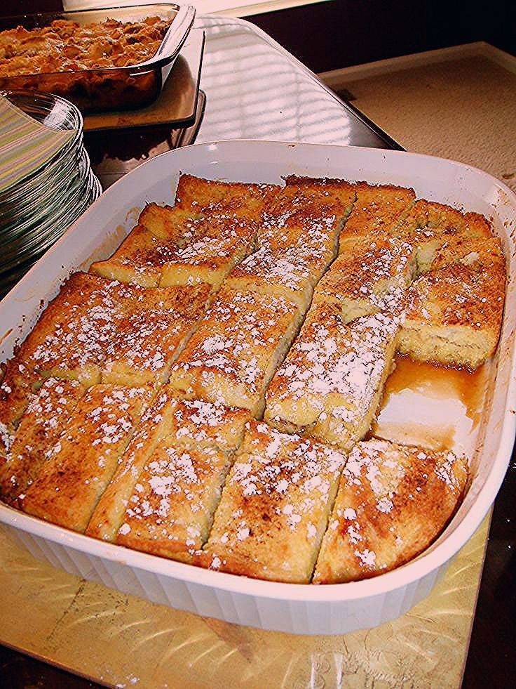 Photo of Rach's Blog: French Toast Bake – Love French Toast? Hate not getting to sit down…
